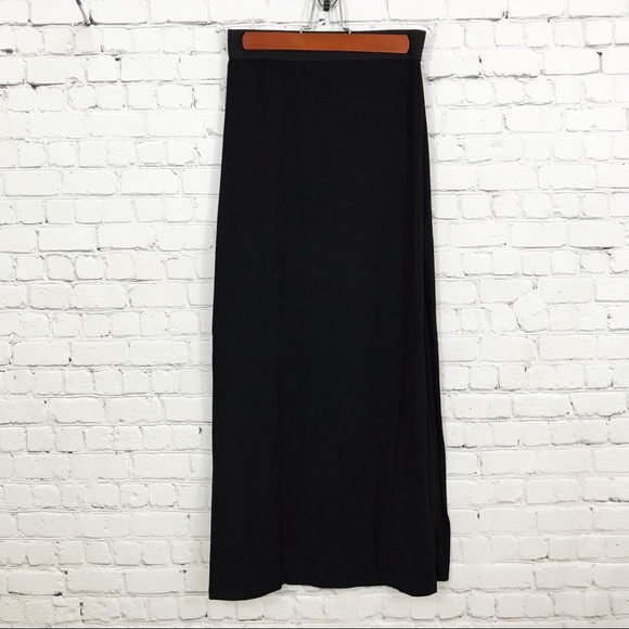 be11303848f G by Guess Dresses & Skirts - G BY GUESS Black Jersey Knit Maxi Skirt